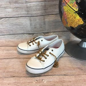 Kid's Leather Sperry Top-Sider Sneakers